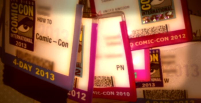 featured - sdcc badges (stylised)